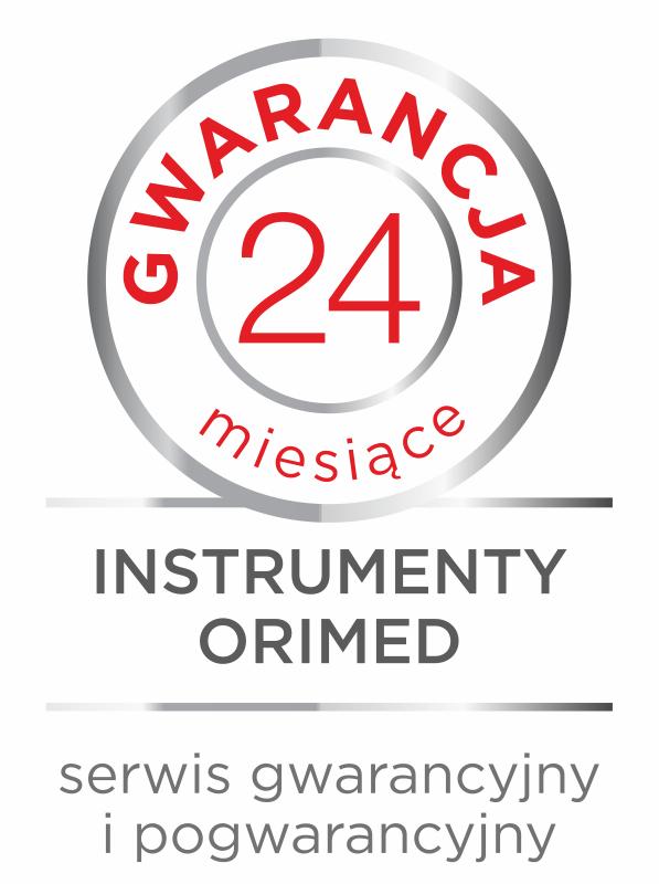 Instrumenty Orimed - gwarancja 24 miesiące
